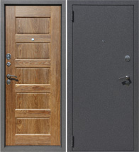 Входные металлические двери Доминанта (Dominanta) Америнский дуб