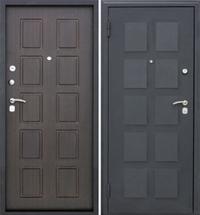 Входные металлические двери Kvadro (Квадро)